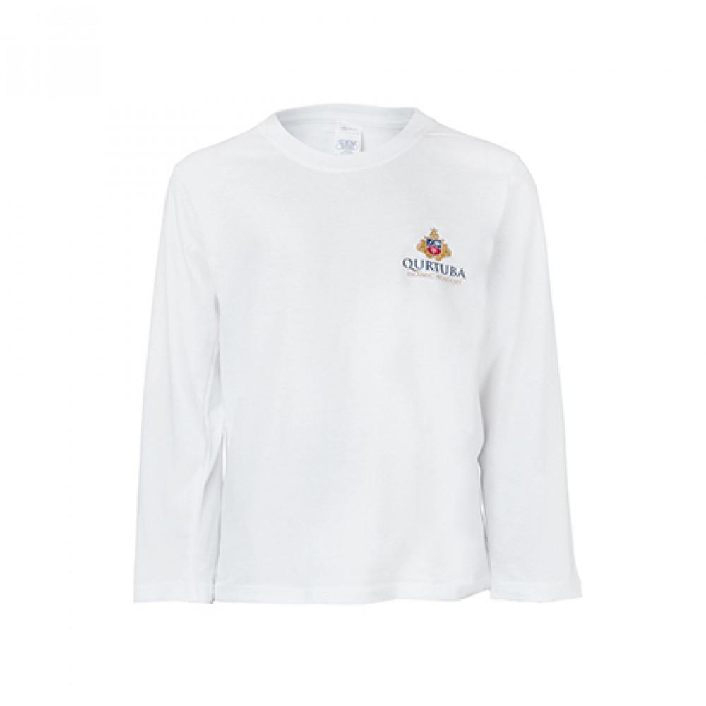 Long Sleeve White T-Shirt (P.E.)